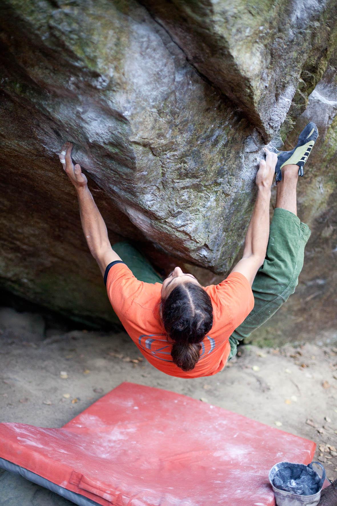 8A Boulder von Markus Schwaiger, ph: Ronald Raggl
