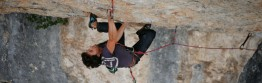 "Andi in ""Slow Food"" (8b+), Ceüse"